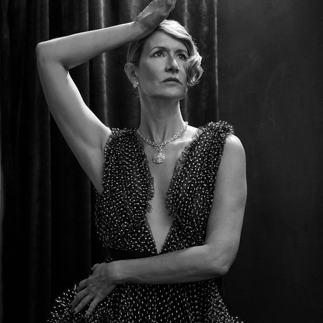 """""""I've loved the freedom lately of just going, 'Fuck it,'"""" says best supporting actress nominee @lauradern. The Marriage Story and Little Women scene-stealer talks breaking away and finding her own path at the link in bio. #VFHollywood - Photographed by @ethanjamesgreen Styled by @samiranasr"""