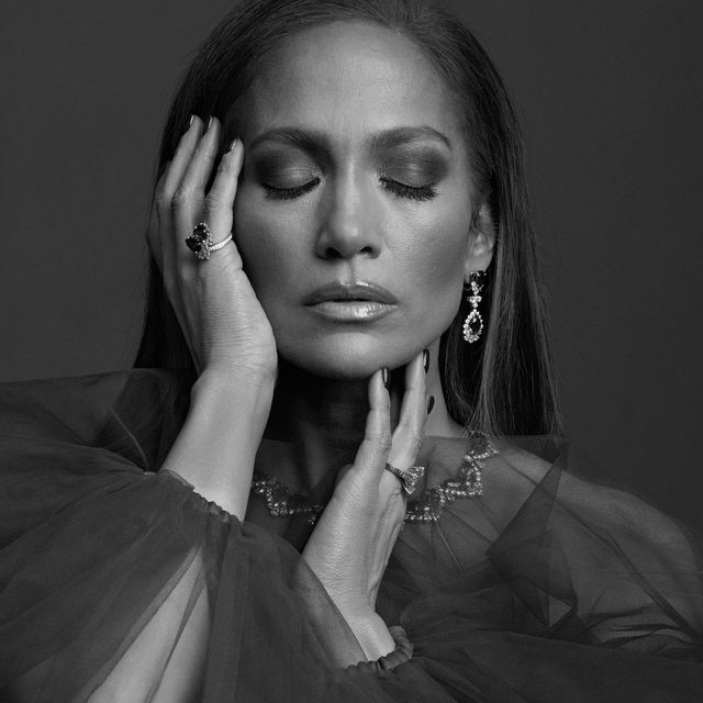 """""""I would say dancing and music are my first loves, but acting is the love of my life."""" @jlo reveals the movie she regrets not taking, the inspiration behind her famous Hustlers pole dance, and more at the link in bio. #VFHollywood - Photographed by @ethanjamesgreen Styled by @samiranasr"""