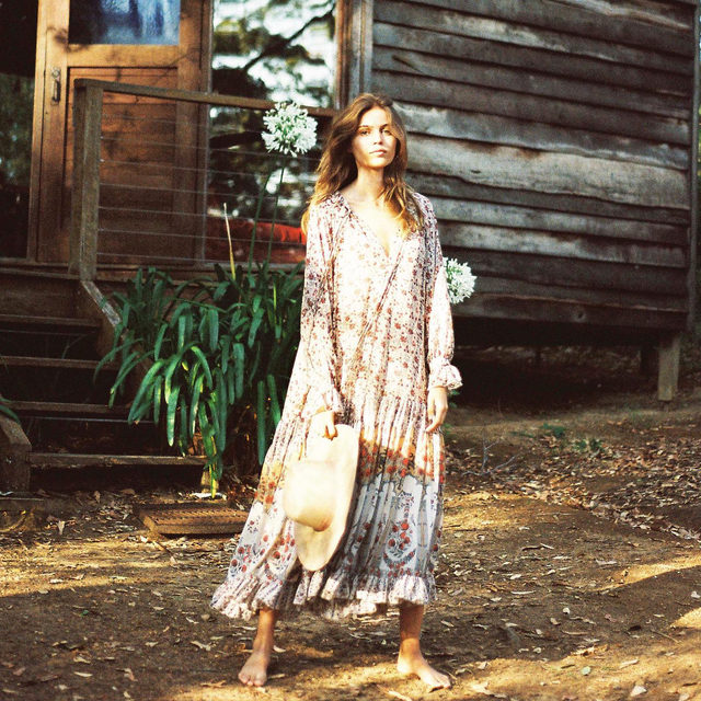 Life is good because the Feeling Groovy Maxi is back in a brand new color. Link in bio for yours.