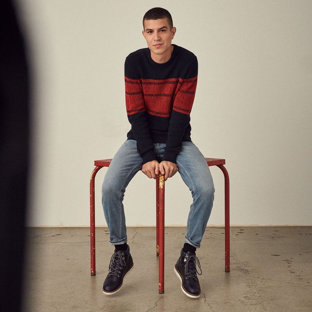 SUPIMA® COTTON SWEATER | 20 PIECES FOR 2020 | Featuring elements of casual.  Modern takes on wardrobe essentials to wear together and apart.