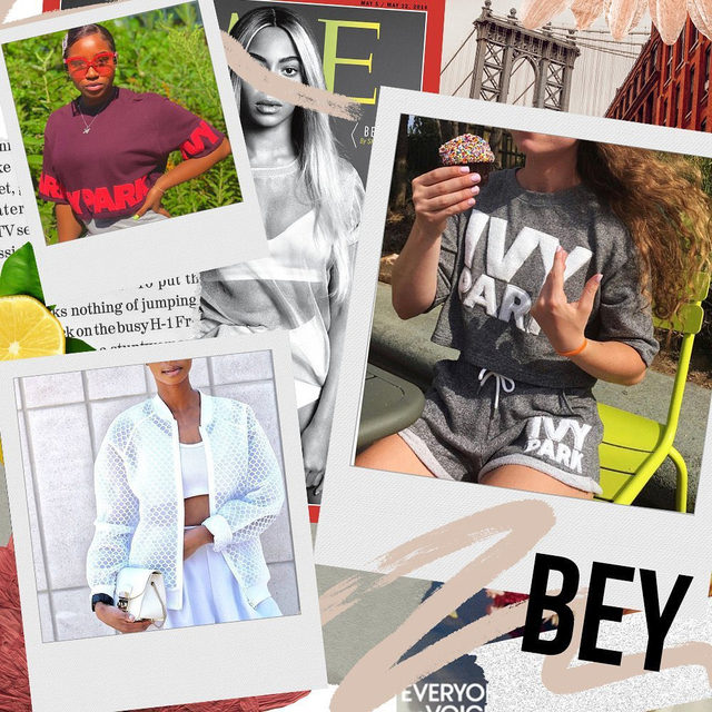 Beyhive, let's get in formation this weekend with the highly anticipated drop of Beyoncé's Ivy Park x Adidas Collab on 1/18. 🐝 In honor of the drop, we rounded up some of our favorite Ivy Park wear from years past. Head to our Shop highlight to get these looks.