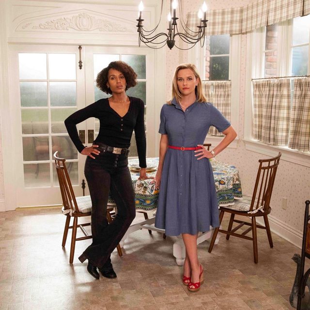 The first trailer for Hulu's highly-anticipated #LittleFiresEverywhere adaptation has arrived, and Reese Witherspoon and Kerry Washington are going head-to-head. Watch at the link in bio.