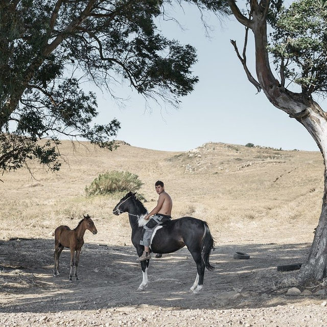 """The interview with Italian photographer @Roselena_Ramistella by Francesca Marani @maranif , selected by @AlessiaGlaviano for the 2018 @phmuseum Women Photographers Grant about ''Deepland', a project she started in 2016 – and still ongoing – that took her to travel along the old Sicilian mule tracks on the back of a mule, from Nebrodi to the Sicani Mountains. Upon observing #RoselenaRamistella's images, one is struck by the intimacy of her gaze and the empathy she established with the subjects she portrayed that appear like the solemn protagonists of a visual narration where the act of documenting becomes one with psychological introspection. This blend can be felt in the photographer's words who, in describing her practice, employed such terms as 'research', 'investigation', 'depth' and 'mirroring'. She is guided by an inner urge, a mix of experiences, intuition and desires that work within herself and takes her to new adventures. """"I grew up surrounded by nature since I was a kid. That's perhaps the reason wh"""