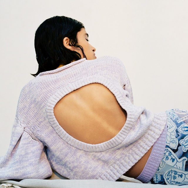 The Christea knit, inspired by a dancer's wardrobe. Head to our link in bio to shop now . 📷 : @mariedehe #BaumDANCE #SS20 #BaumundPferdgarten
