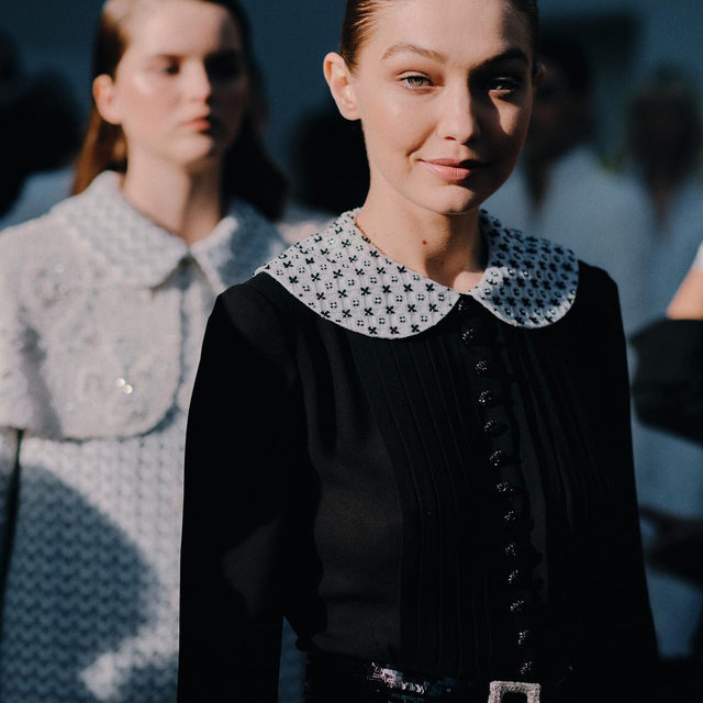 The #VogueBackstage at the @Chanelofficial Haute Couture Spring-Summed 2020 Show is out: swipe to see the pictures by @jamstoker and discover more via link in bio.  #CHANELHauteCouture  #CHANEL  #pfw