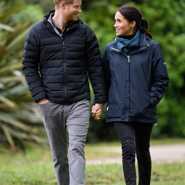 """Meghan Markle and Prince Harry are embracing their Canadian lifestyle—with hiking, beanies (ahem, """"toques""""), and big smiles. At the link in bio, @vfvanities reveals how the couple is making a silent argument for why leaving the royal family was the right way to go."""