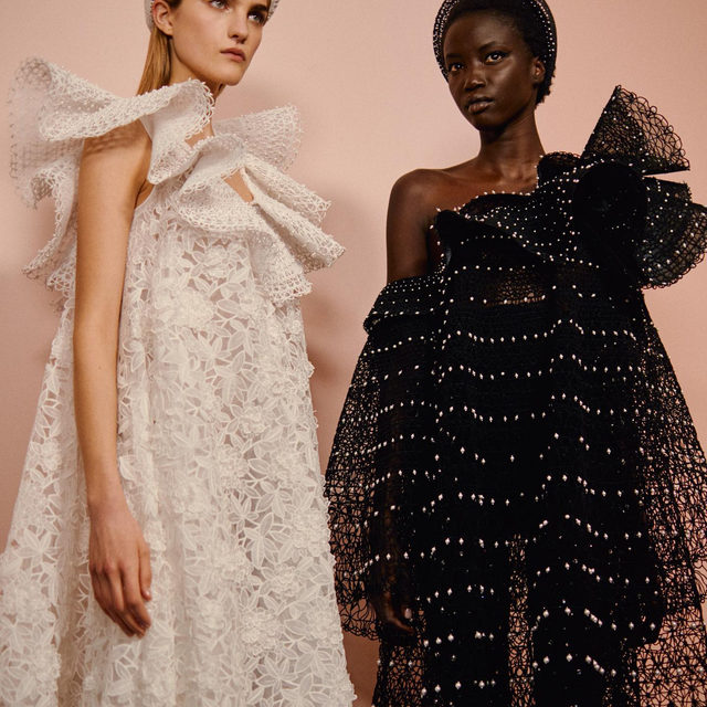 The #VogueBackstage at the @Givenchyofficial Haute Couture 'Alcôve' Spring-Summer 2020 Collection by @ClareWaightKeller is out: watch more about the show in Stories and discover every single look at the link in bio. #GivenchyCouture  Pictures by @jamstoker