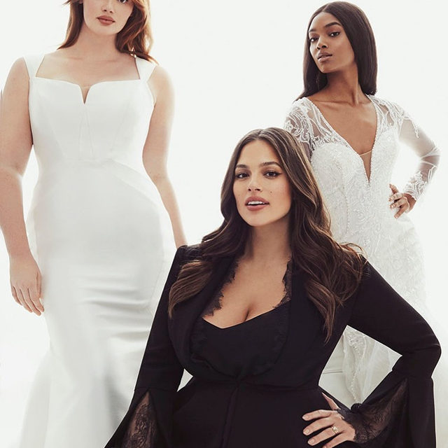 #AshleyGrahamXPronovias Collection is designed to complement the female form with trend-setting details that infuse each piece with unmistakable glamour. Soon in stores.