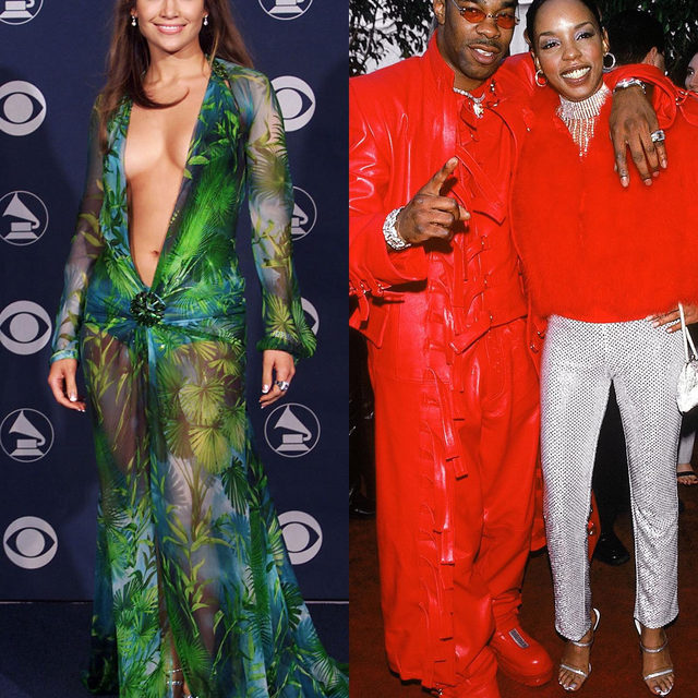 What did the #Grammys red carpet look like 20 years ago? Ahead of Sunday's show, @vfvanities recaps the most memorable fashion moments from music's biggest night. See more at the link in bio.