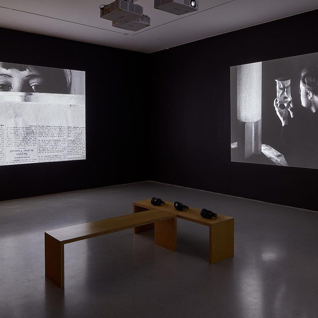 """#ManRay: An exhibition of work by Man Ray is now on view at Gagosian, San Francisco, through February 29. Developed in collaboration with the Man Ray Trust, """"Man Ray: The Mysteries of Château du Dé"""" presents three key films by the artist: """"Emak Bakia"""" (1926); """"L'étoile de mer"""" (1928); and """"Les Mystères du Château du Dé"""" (1929), the longest of his film works.  During his storied career, Man Ray, a multidisciplinary artist with a rare breadth, worked in a variety of mediums, including painting, photography, sculpture, printmaking, film, poetry, and prose. While for him photography and painting were paramount, his work in early film and cinema is often overlooked. Find out more via the link in our bio.  __________ #Gagosian Installation views, """"Man Ray: The Mysteries of Château du Dé,"""" Gagosian, San Francisco, January 14–February 29, 2020. Artworks © May Ray Trust/Artists Rights Society (ARS), New York/ADAGP, Paris 2019. Photos: Johnna Arnold, Impart Photography"""