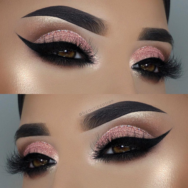 Leave a comment down below if you would rock this look! 😍  @beautiception smoked out this look with a glam liner, and the lash style What the Fluff?  Tap to shop the lash  #VelourBeauty #VelourLashes #LiveInLashes