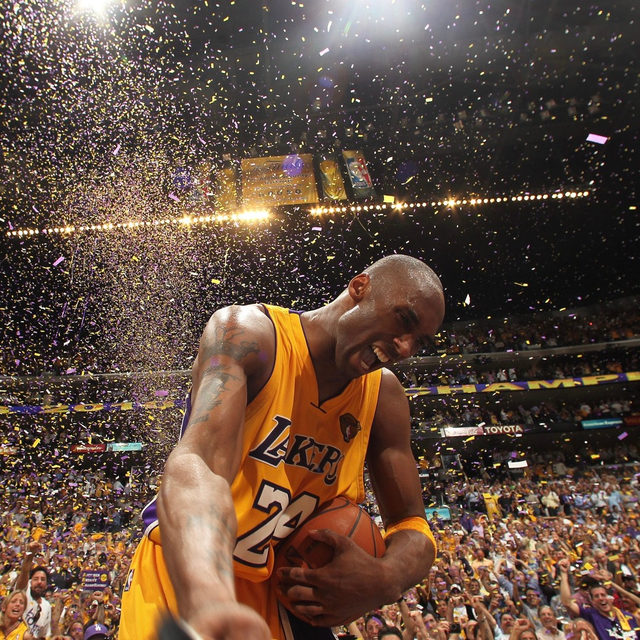 In memory of Kobe Bryant, who passed away today at the age of 41.