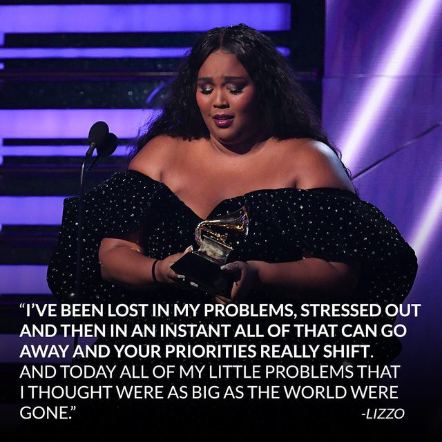 This #Grammys award: Deserved. This speech: You need to hear. Link in bio for Lizzo's big moment that put everything into perspective. #TwentyFourever (📷: Getty Images)