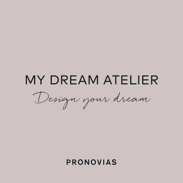 Design your dream with #MyDreamAtelier | Choose your silhouette, accessorize with custom elements and embroider your love story! Learn more: link in bio.