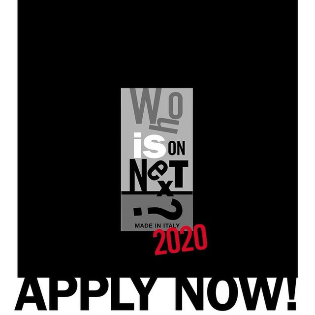 """""""Who Is On Next?"""" 2020 edition: the applications for the scouting project by @VogueItalia and @AltaRoma are now open! The contest is dedicated to WOMENSWEAR, MENSWEAR and ACCESSORIES designers who produce their collections in Italy.  Discover how to apply via link in bio."""