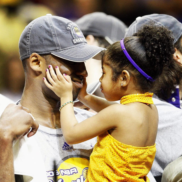"Less than a month before their fatal crash, Kobe Bryant filed to trademark the word ""Mambacita,"" a nod to his own title ""The Black Mamba"" and a way for his daughter Gianna to carry on his legacy. #TwentyFourever (📷 : Getty)"