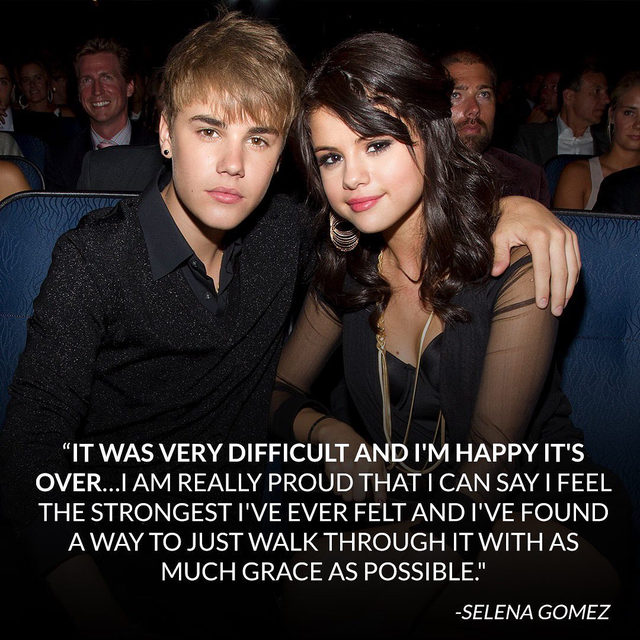In a revealing new interview, Selena Gomez admitted she felt she was a victim of emotional abuse during her relationship with Justin Bieber. Link in bio for everything she said. (📷: Getty)