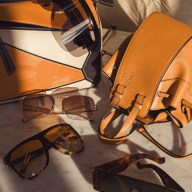 THROUGH THE LENS OF LOEWE | new @loewe sunnies now available - link in bio to shop