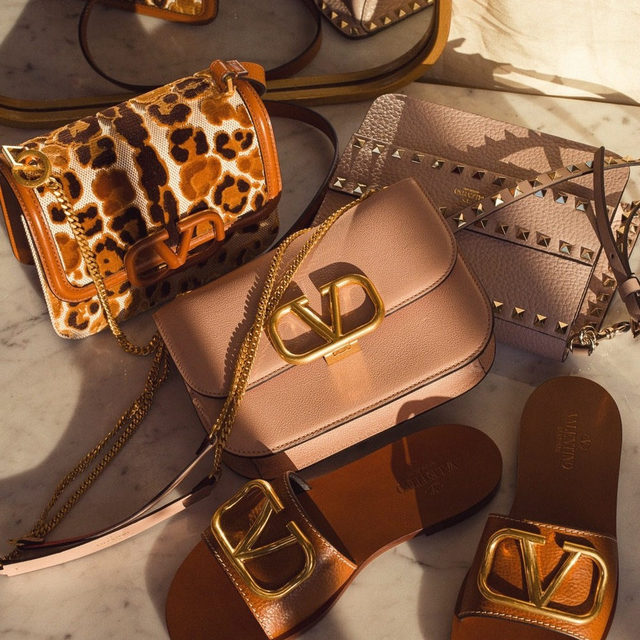NEW FROM VALENTINO | link in bio to shop the latest accessories