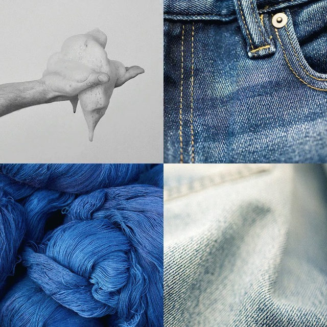 Introducing our Dry Indigo® Traveler Denim. 🌎  Made with our foam-dye process—which only uses a teaspoon of water to dye each pair of denim. That's 99% less water than traditional denim-dyeing methods. Link in bio.