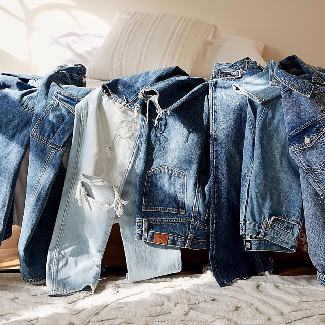 The truth is that you can never have too many pairs of jeans—which is why we're giving away each pair you see here. Want in? Follow @UrbanOutfitters and comment the blue jeans emoji—we'll choose a winner on Wednesday, 2/5! #BDG365