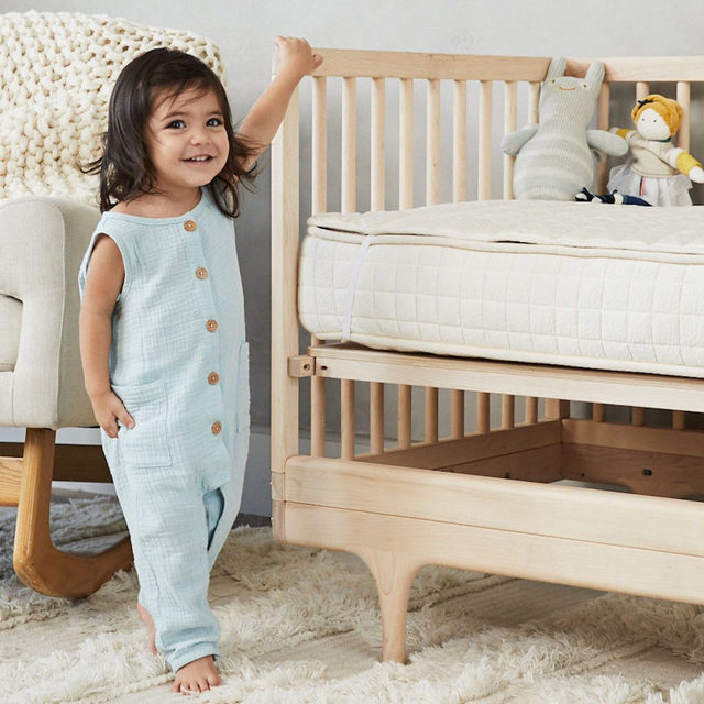 A baby nursery should evoke ease and light, coos and soft sleeping sounds. Which is why everything that goes into it deserves the utmost scrutiny to make sure it's all clean, healthy, and efficient. Link in bio for 9 Essentials for a Healthy Nursery.