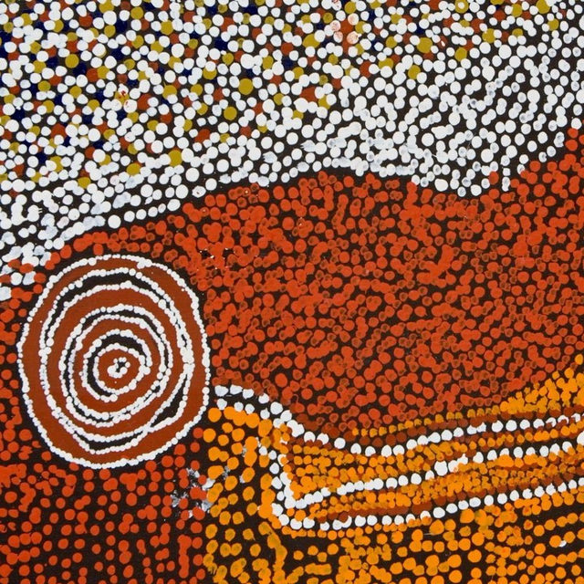 "#GagosianViewingRoom: ""Rockholes near the Olgas,"" a contemporary Indigenous Australian painting by Bill Whiskey Tjapaltjarri, is featured in Gagosian's latest Online Viewing Room for Frieze LA.  In May 2019 Gagosian presented the critically acclaimed exhibition ""Desert Painters of Australia"" in New York, featuring three generations of contemporary Indigenous Australian painting from the Kluge-Ruhe Aboriginal Art Collection of the University of Virginia and the collection of Steve Martin and Anne Stringfield. A sequel exhibition followed in Los Angeles later that summer.  Indigenous Australian art soon experienced a major boom—evidenced by the enthusiastic sales and new records set at the first New York auction of Aboriginal contemporary art at Sotheby's in December 2019—which Eileen Kinsella of Artnet posited as the ""Gagosian effect"". Visit gagosianviewingroom.com to view all available works, or to contact a member of gallery staff for live assistance. __________ #FriezeArtFair #FriezeLA #Gagosian @friezeartf"