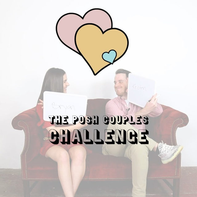 We put Posh Couple @its_simply_kz and @the_houston_exchange to the ultimate test and asked who knows the other best? Tap the link in our bio to watch them take the Posh Couples Challenge on YouTube!