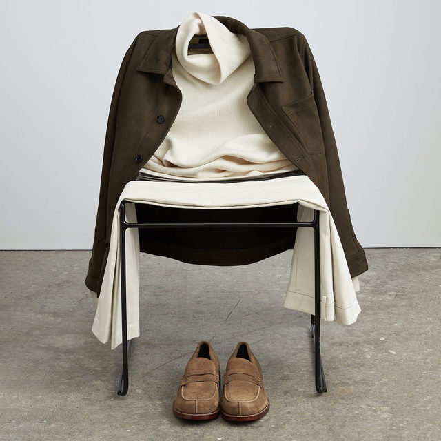 Shift into neutral with muted pieces that say a whole lot.
