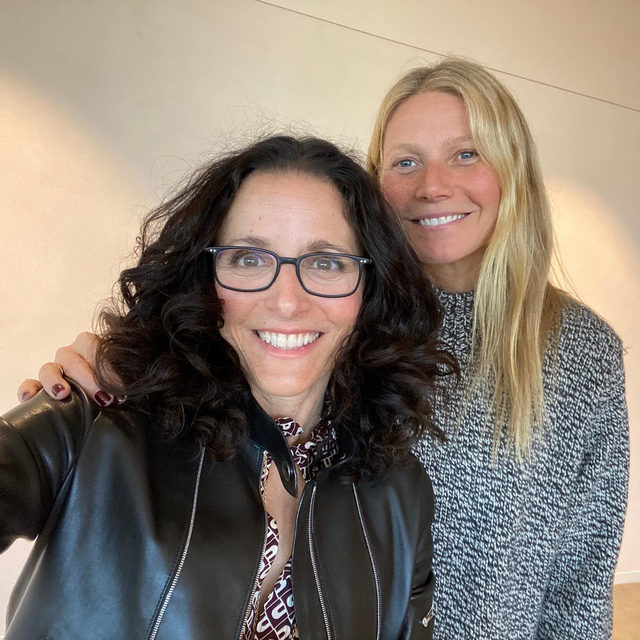 """""""The fear is kind of like the gas in your tank,"""" says Julia Louis-Dreyfus. The actor and producer sits down with GP to talk about motherhood, family life, how she looks back on her career, and where she's going next. They talk about marriage and what makes a relationship get """"cozy"""" over time. They talk about acting, humor, and laughter. They both share their experiences with post-partum depression. @officialjld shares the mindset she cultivated when she was diagnosed with breast cancer. And, she tells us about her newest project @Downhill_Movie, which she produced and stars in, and which comes out on Valentine's Day."""
