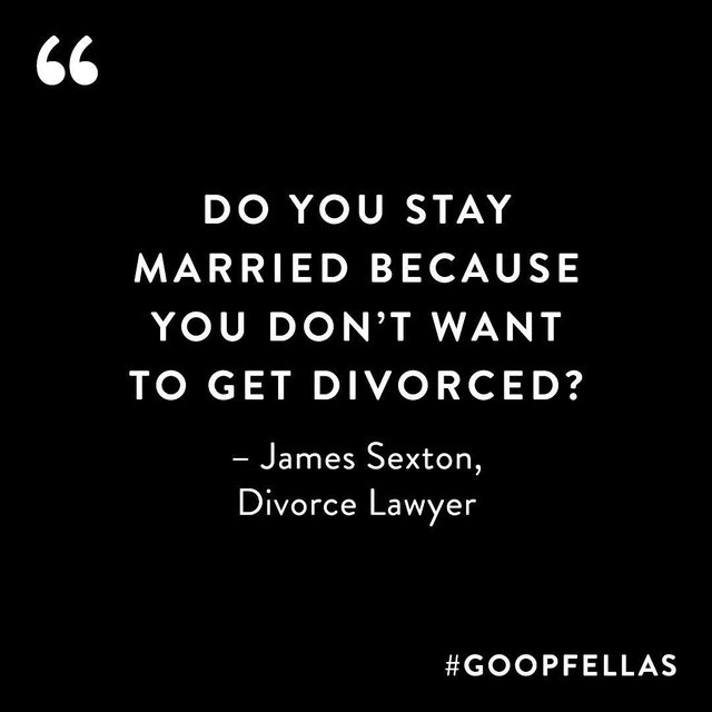 """""""Relationships are chapters in a long story,"""" says James Sexton, author of How To Stay in Love. Sexton teaches us what he's learned from twenty years as a divorce lawyer and from his own divorce. To make a marriage last: """"Never stop trying to close your spouse,"""" says Sexton. Take preventative measures. Have a plan for how you're going to argue and be in conflict—before you're in conflict. Mind your plate. Pay attention. It's not about being right. It's about being happy. And if you're not happy, have the courage to close one chapter and open another with compassion—for your partner and yourself."""