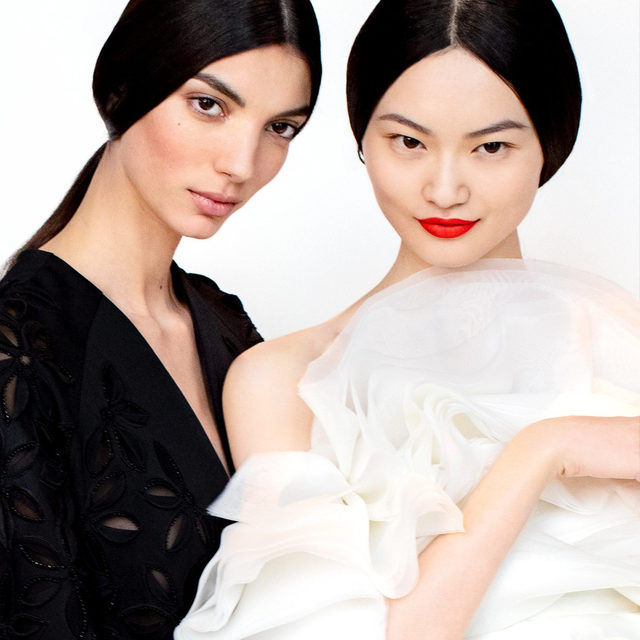 Obsessed with red lips for a splash of fun and brightness in the Fall 2020 collection by creative director @wesgordon. #HerreraBeauty