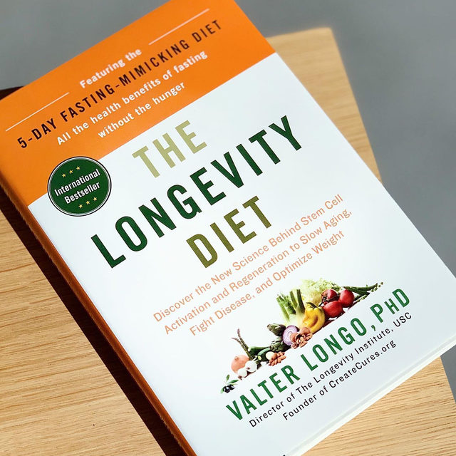 Researcher Valter Longo, PhD, studies ways to promote healthspan (you may have seen him on our Netflix show). In this book, he describes how exercise, a diet high in plants, and periodic fasting could be beneficial for healthy aging. Aware that most people would say that the fasting bit is less than ideal, Longo developed a five-day, fasting-mimicking diet (which many of us at goop HQ have tried out). The Longevity Diet explains Longo's research, recommendations, and recipes for a pescatarian diet for when you're not doing the fasting-mimicking diet. See link in bio for more books on diet, lifestyle, and aging well.