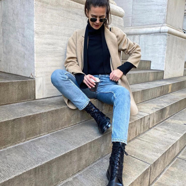 @ivanakorda shows us how to do a casual Sunday. Tap the link in our bio to shop some of our current weekend picks.