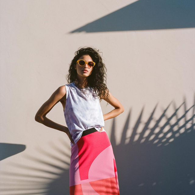 Stand out in a stunning skirt. (link in profile to shop)