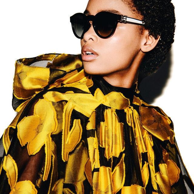 Bold glamour in #HerreraEyeStyle and the Carolina Herrera Fall 2020 collection by creative director @wesgordon. #EraofHerrera