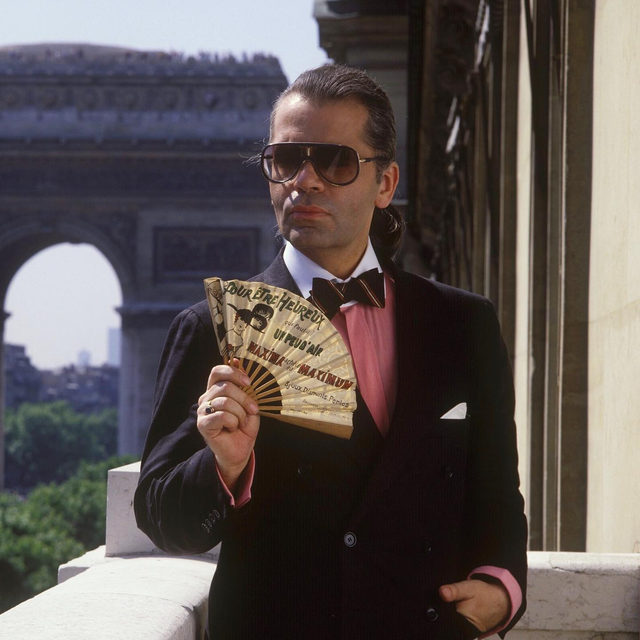 "#KarlLagerfeld, who died a year ago today, was the consummate tastemaker. Born in Germany, the designer moved to Paris at the age of 19, and the French capital became his spiritual home. The area he visited most became known to those close to him as the ""Lagerfeld district"" – a microcosm of Karl's Paris that was home to the bookshop he loved and his favourite florist. #BritishVogue pays tribute to the late fashion legend with 10 Paris addresses from his little black book. See them all via the link in bio."