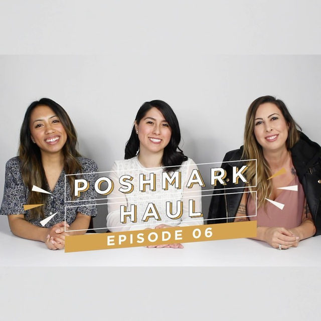 From the Bay Area to Houston, we're back with a Poshmark Haul featuring Team Posh and community members (@shopkellyrose, @shoplosttreasures, @ashleeeybash, @_ashleedawn, @khaileypena) who sat down to share their favorite #PoshFinds with us! Tap the link in our bio to watch the whole video.
