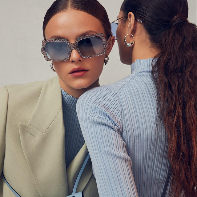 ACNE STUDIOS | discover the latest from the Spring 2020 collection—think pastel suiting and painterly slips - link in bio to shop the collection now