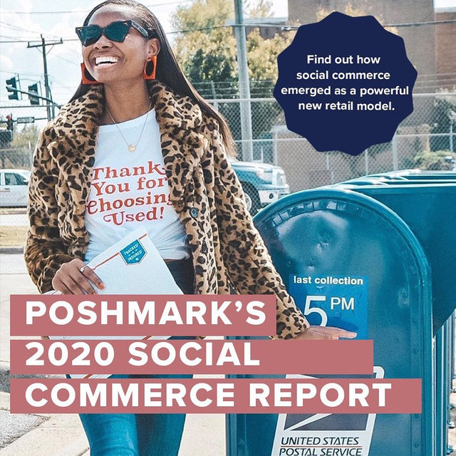 Our 2020 social commerce report is live! 🌟This year's report uncovers how social shopping is driving the future of retail. Find out about the generational trends that are influencing shoppers and the resale trends that are shaping the way we buy, sell, and connect in 2020. Read the full report via our link in bio.