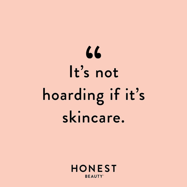 Just some food for thought while you're doing that Spring cleaning... 😉 What's your fave skincare product to alwayssssss have extra of? Drop it below!  #CleanBeautyThatWorks #ThatsHonest #crueltyfree