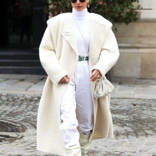 Bonjour, Paris. From the front row to the streets, tap our link for the biggest outfits trends celebs have been stepping out in during Paris Fashion Week so far. photo: shutterstock
