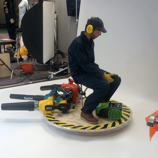#throwback to that time we built a hovercraft out of leaf blowers. What should we built next? 🤔 (check out the link in bio to learn how to diy your own)
