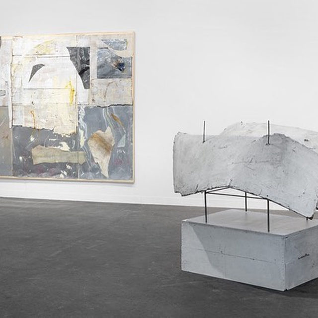 """#TheArmoryShow: In New York this weekend? Visit the Armory Show to see Gagosian's solo booth of recent paintings and sculptures by Rudolf Polanszky.  The fair coincides with an exhibition of Polanszky's work now on view at Gagosian, 541 West 24th Street, New York, inaugurating his representation by the gallery. The show presents paintings and sculptures by Polanszky dating from 2014 to 2019.  To receive a PDF with detailed information on the works, please contact the gallery at inquire@gagosian.com or via direct message. Learn more via the link in our bio. __________ #RudolfPolanszky #Gagosian @thearmoryshow Installation views, """"Rudolf Polanszky: The Armory Show,"""" booth 601, Pier 94, Piers 90 and 94, New York, March 5–8, 2020. Artwork © Rudolf Polanszky"""