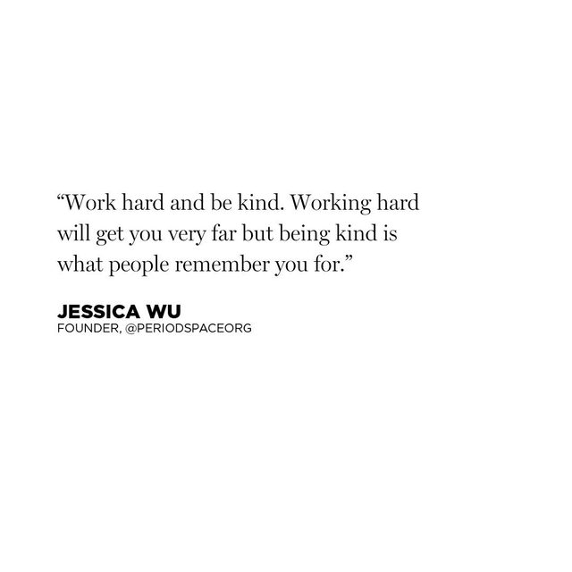 Words to live by from @jessicawu — stay tuned for her Instagram story takeover today!