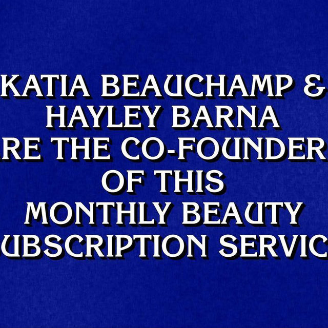 Any guesses? 😉 @jeopardy #jeopardy