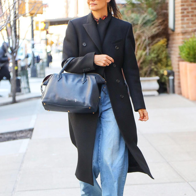 Slouchy, relaxed, baggy, oversize—whatever you like to call it, the chill denim trend is everywhere right now. Tap our link for the easiest ways to style baggy jeans, courtesy of our favorite stylish celebs. photos: splash news, backgrid, getty images
