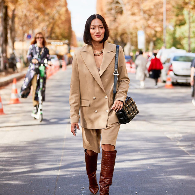 Only one spring trend can be the favorite—that's just how WWW's March Madness works. Was it trench coats or leather blazers? Wide-leg jeans or Bermuda shorts? Tap our link for the trends you voted on and loved the most. photos: @thestylestalkercom