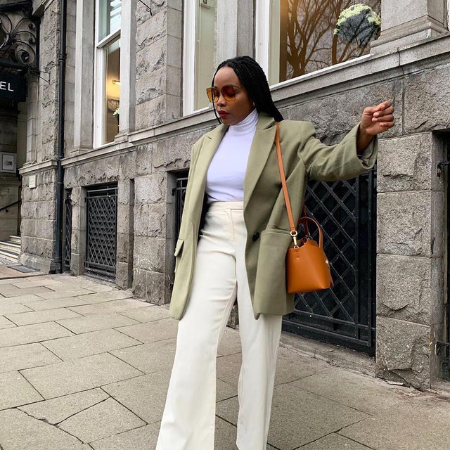 So you're into a muted color palette—that's a vibe. Tap our link for the coolest neutral outfit ideas that will definitely amp up your spring wardrobe game. photos: @ada_oguntodu, @annelauremais, @claire_most, @modedamour
