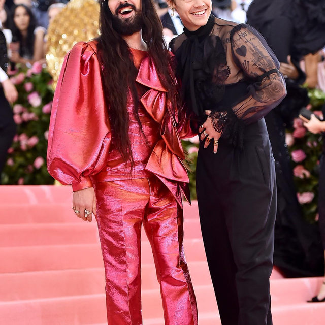 The first Monday in May won't be the same this year—the #MetGala has officially been postponed. Tap the link in bio for what we know so far about fashion's biggest night of the year. photos: getty images